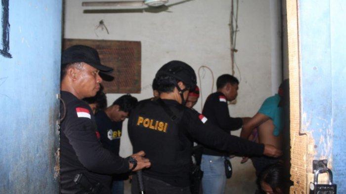 Pesta Narkoba, 14 Pemuda Diangkut Polisi