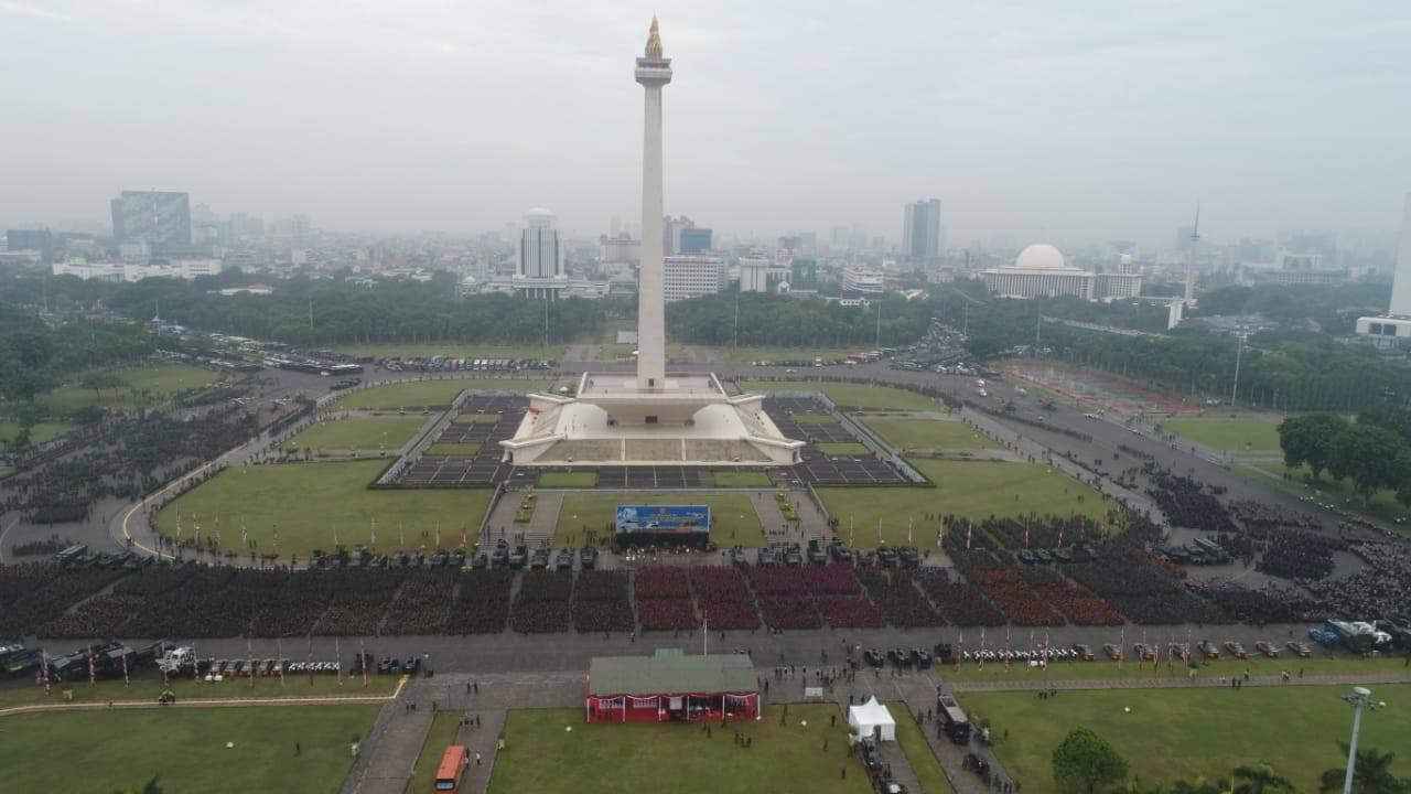 Puluhan Ribu Pasukan TNI Dikerahkan Ke Monas, Lieus: Seperti Mau Perang Saja