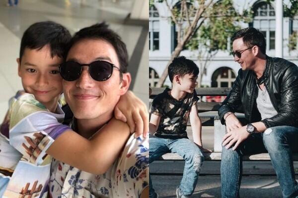 10 Momen Kedekatan Mike Lewis dan Anaknya, Bikin Haru!