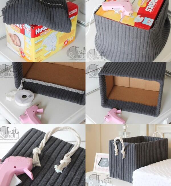 8 Kreasi Kotak Penyimpanan dari Barang Bekas, Bikin Kamar Jadi Rapi!