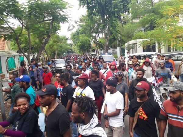 Polisi Bubarkan Kegiatan KNPB di Papua, 39 Orang Diperiksa