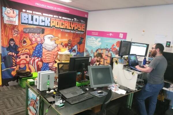 The Arcade, Co-Working Space Keren Khusus Pembuat Game