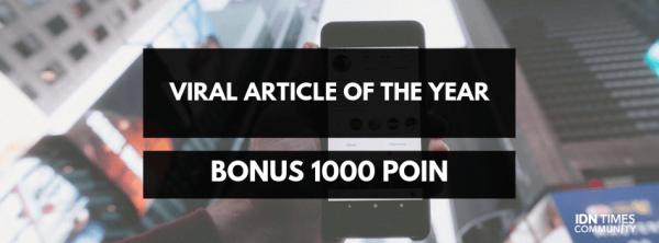 Kumpulan Bonus Poin Desember 2018 IDN Times Community