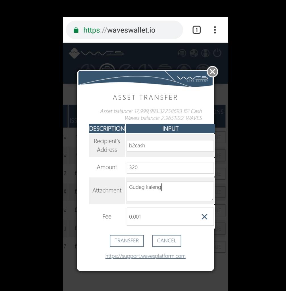 Cara Order Produk Terdiskon Digital Asset B2 Cash