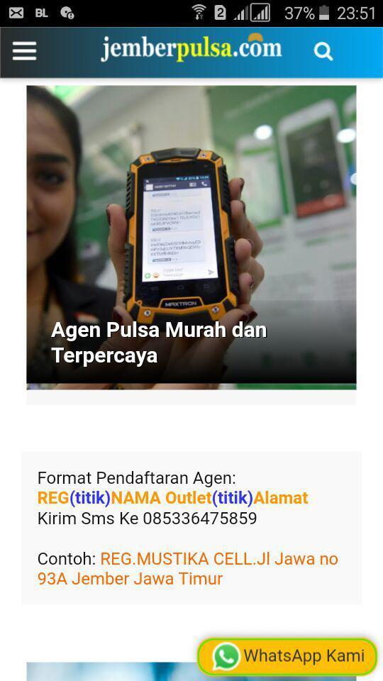 Server Pulsa Murah Jawa Timur