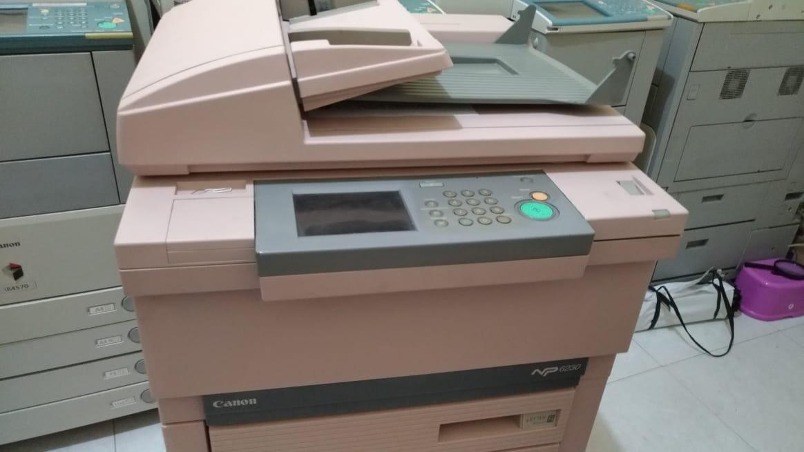 Mesin fotocopy Canon NP 6230/6035 rekondisi siap pakai