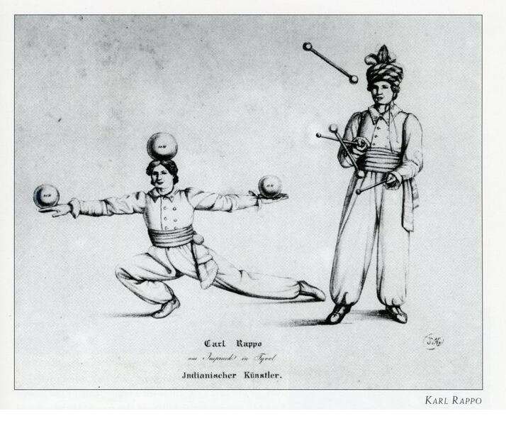 Karl Rappo, Tinggalkan Kebangsawanan Demi Akrobat