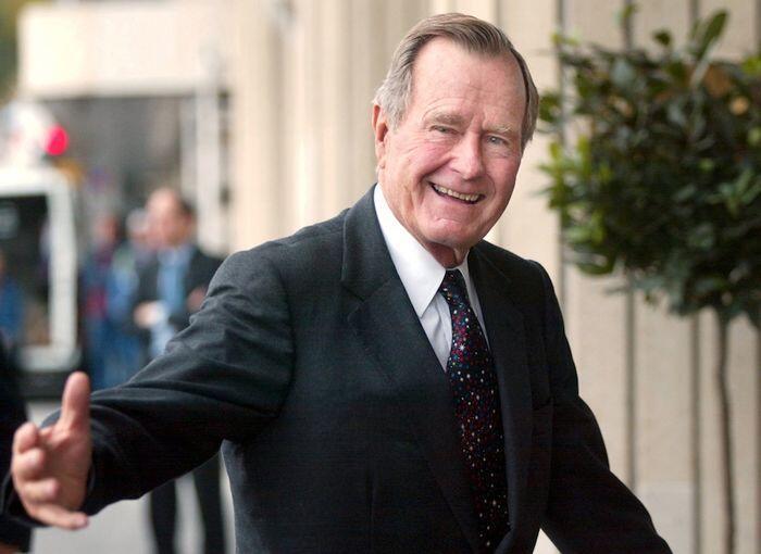 George H W Bush, Ayah dan pelayan terbaik bagi AS