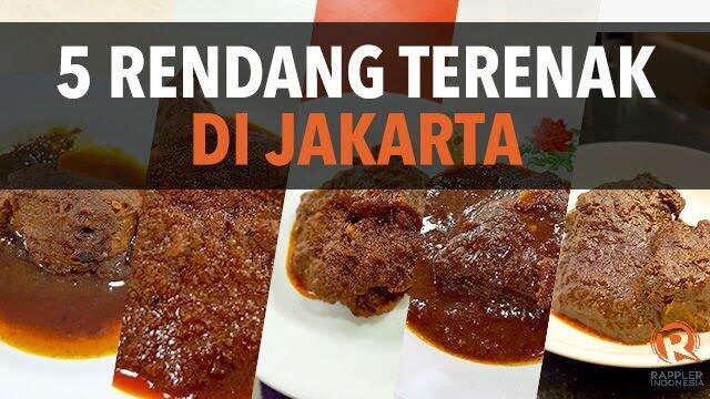 Nusantara Marandang, Event Pelipur Lapar Di Pusat Jakarta