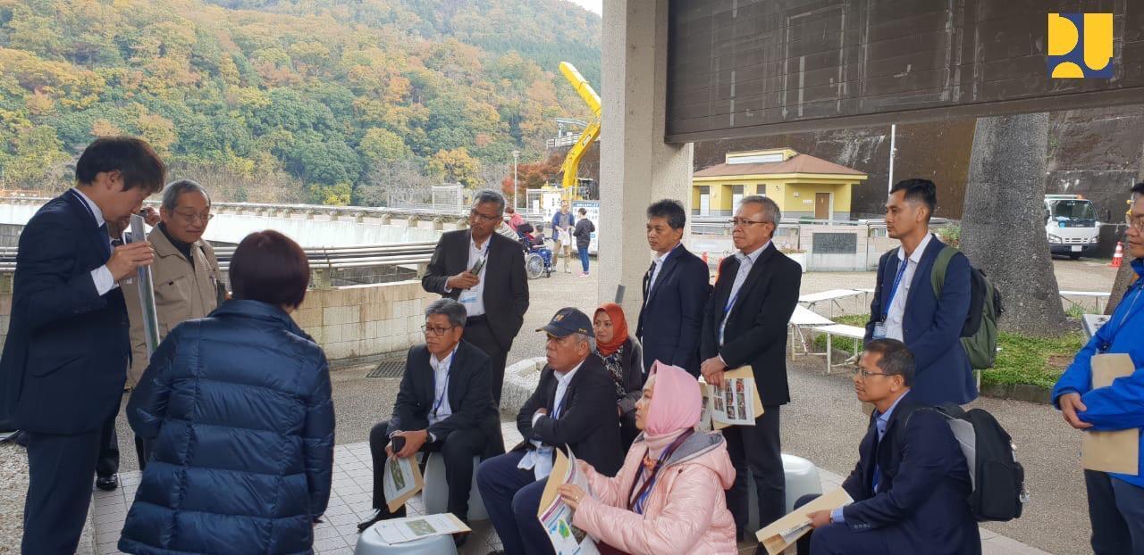 Saat Menteri Basuki Belajar Teknologi Dam Upgrading di Jepang