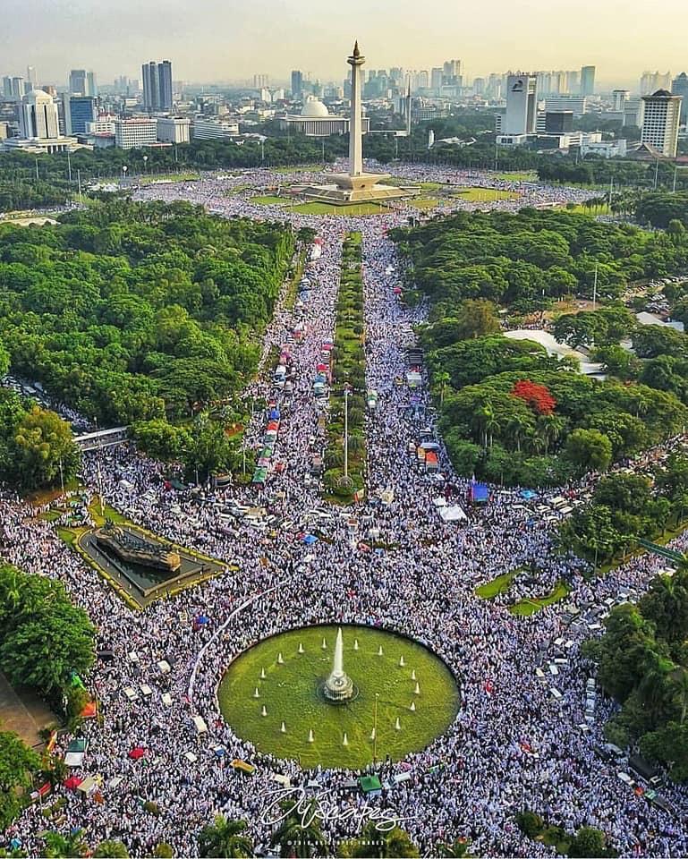 Spirit Aksi 212, Mimpi Buruk Gerakan Sekuler-Liberal di Indonesia
