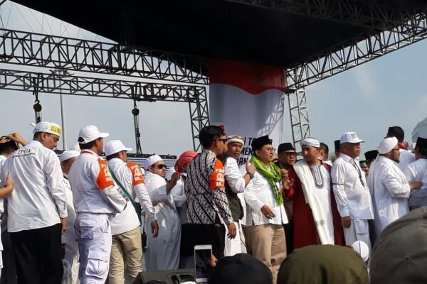 Ramai Politikus Pengusung Prabowo di Reuni 212, Ini kata Hidayat