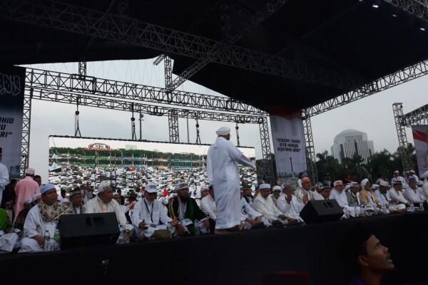 Dalam Doa Bersama, Peserta Alumni 212 Sebut Rindu Rizieq Shihab