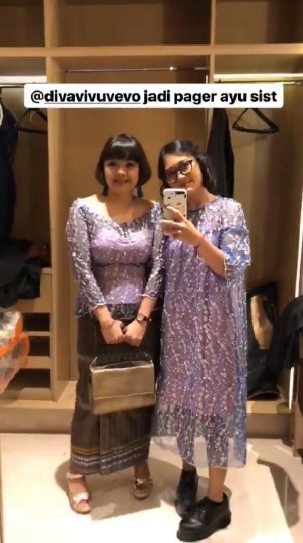 Adu Gaya Fashion Para Artis Hadiri Pernikahan Ge Pamungkas-Anastasia