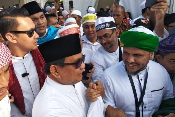 Hadir di Reuni 212, Prabowo Bangga Muslim Indonesia Bersatu