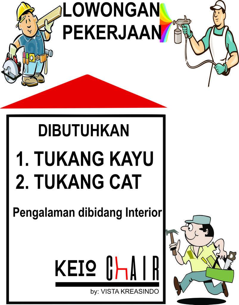 Lowongan Kerja Tukang Kayu dan Cat