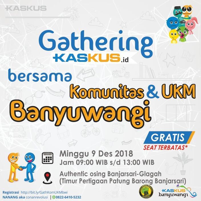 [INVITATION] Gathering kaskus.id bersama komunitas banyuwangi