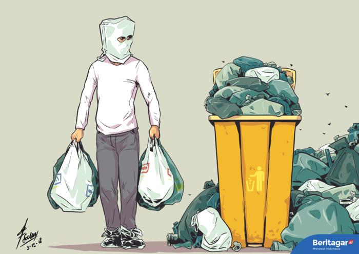 Mana strategi pengelolaan sampah menyeluruh?