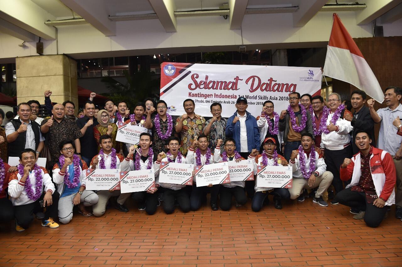 Lagi, Indonesia Raih Juara Umum di Kompetisi Internasional