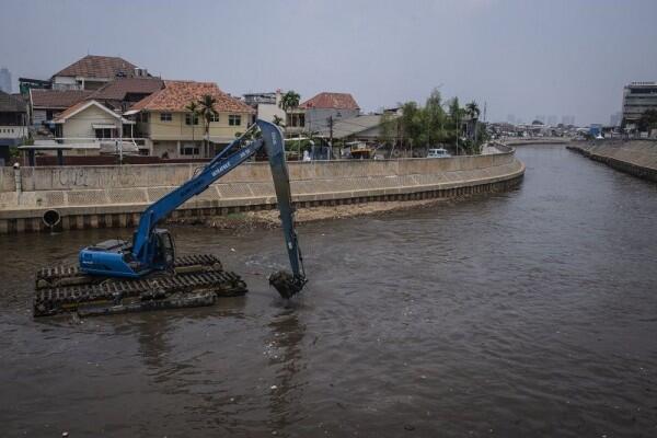 Pemprov DKI Anggarkan Rp 500 M Untuk Normalisasi Sungai