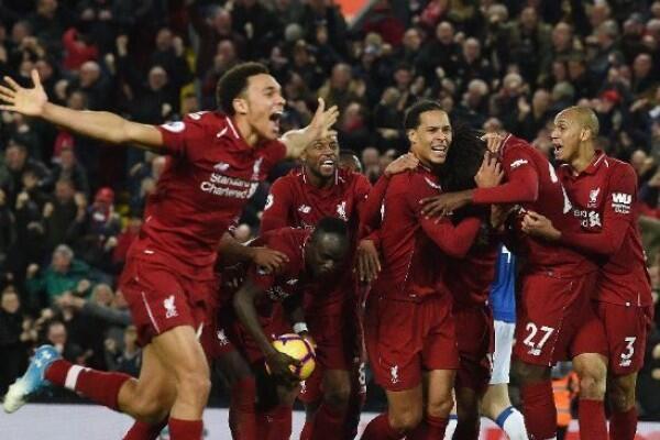 Bekuk Everton 1-0, Liverpool Tempel Ketat Manchester City