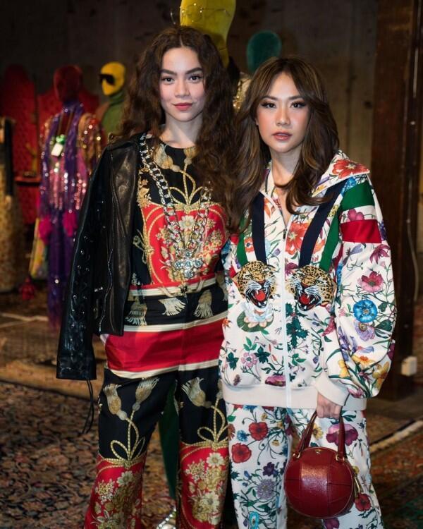 10 Pesona Bunga Citra Lestari Hadiri Acara Gucci di Shanghai, Fancy!