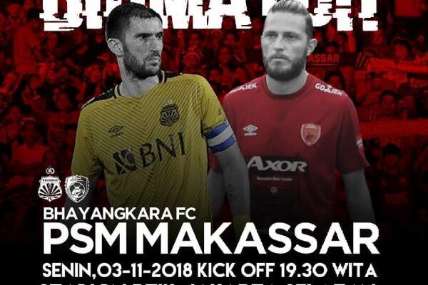 4 Fakta ini Pastikan PSM Tak Akan Mudah Kalahkan Bhayangkara FC