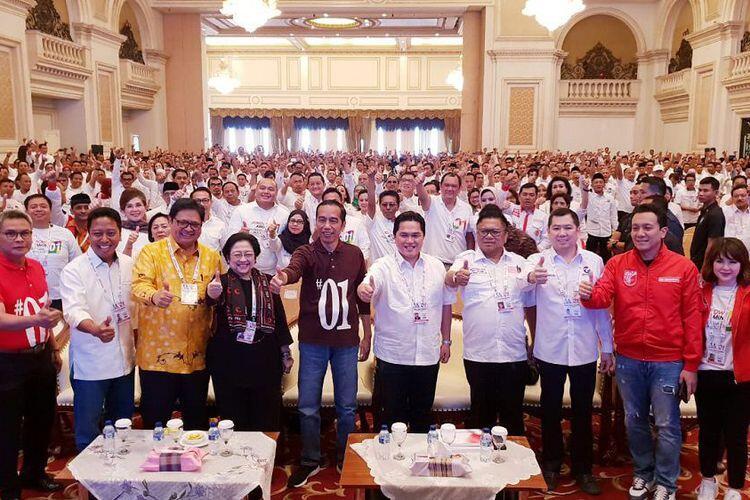 "Sisa 4 Bulan Masa Kampanye, Jokowi-Ma'ruf Amin Turunkan ""Pasukan Infanteri"""