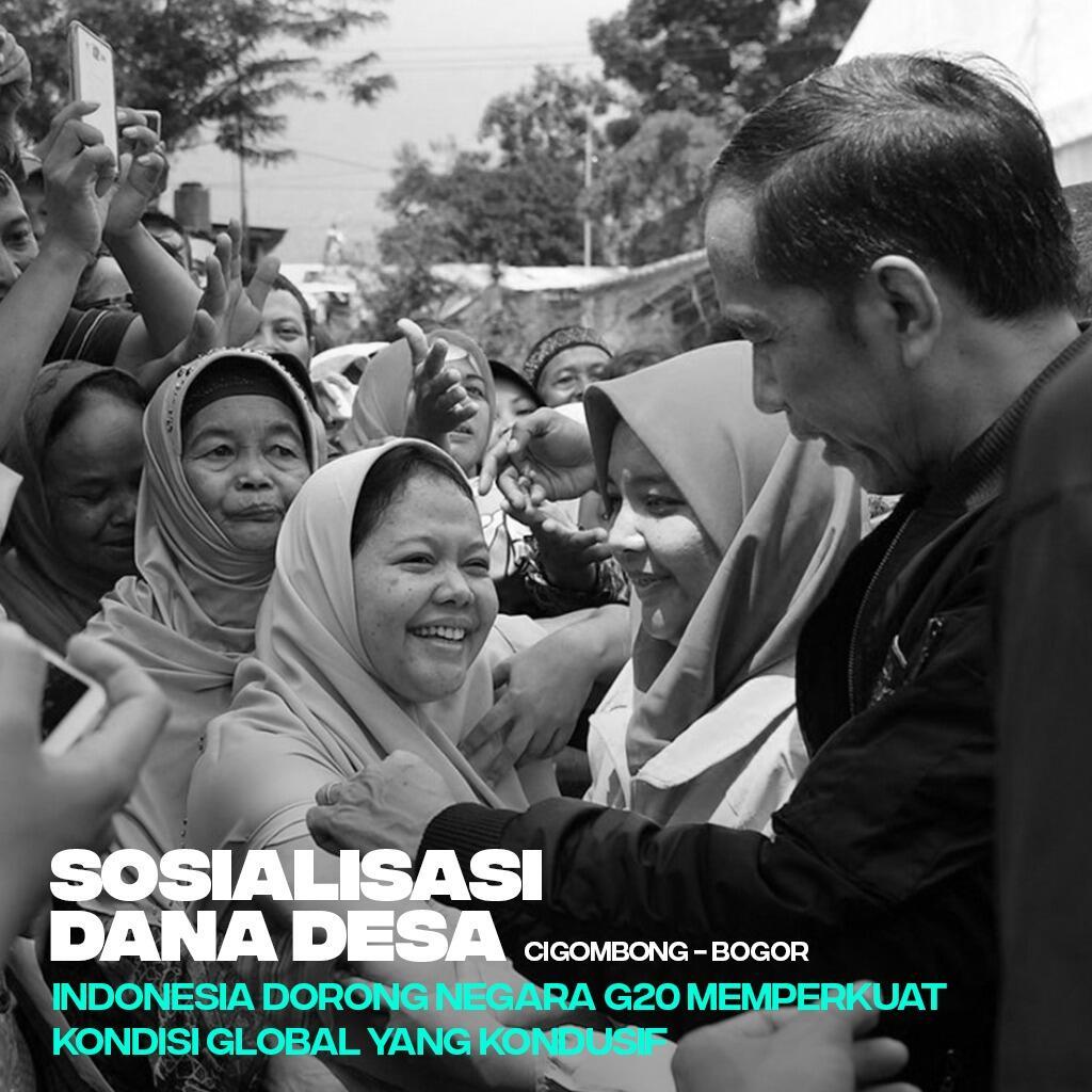 Presiden Jokowi: Manfaat Besar Dana Desa Akan Terasa Tahun Depan