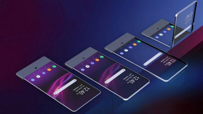 Gak Mau Ketinggalan, Sony Rilis Desain Smartphone Lipat!