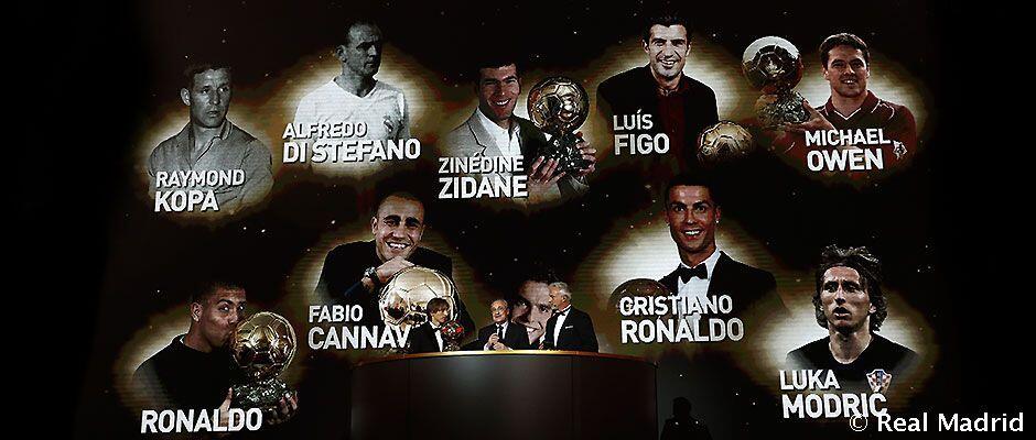 Perebut Bola Emas Real Madrid