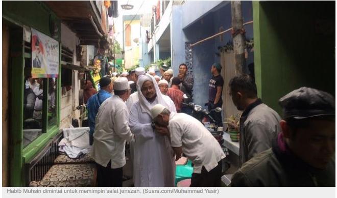 Meninggal Usai Ikut Reuni 212, Imam FPI Sebut Muhammad Idris Mati Syahid