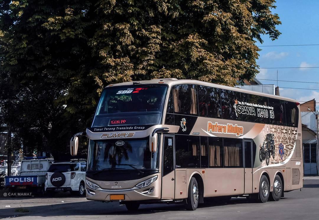 Agan Mau Naik Bus Tingkat AKAP? Ini Gan Trayek dan Tarifnya [UPDATE]