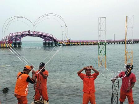 Jembatan Cinta Punya Spot Baru untuk Swafoto