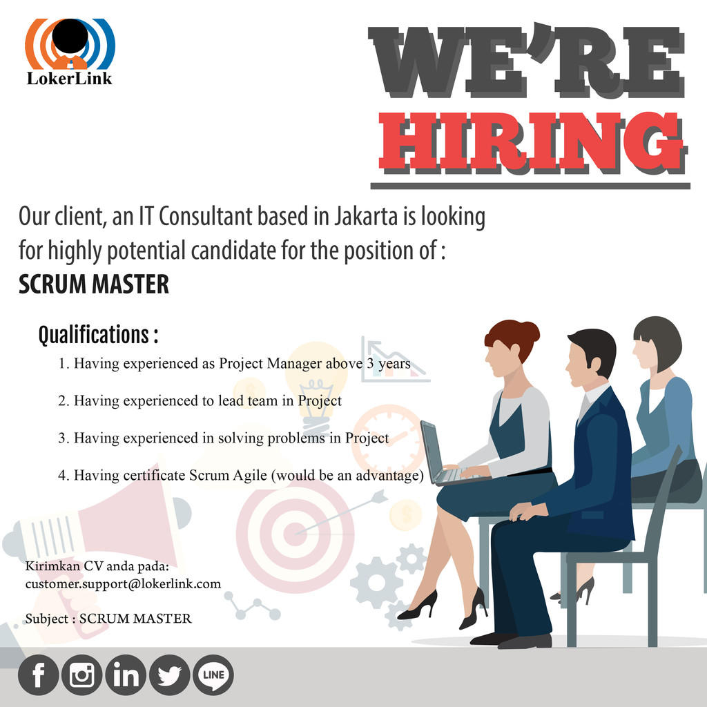 SCRUM MASTER (Job Vacancy In Jakarta)