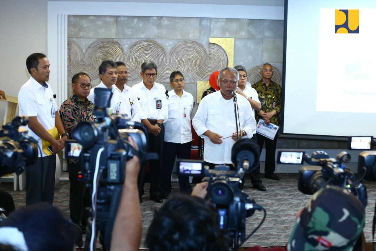 PUPR Hentikan Sementara Proyek Jembatan Trans Papua Segmen 5