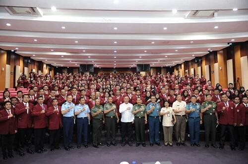 Mahasiswa Unhan Harus Berkomitmen Wujudkan Pertahanan Negara Tangguh