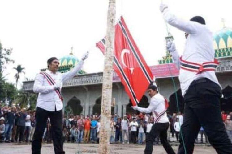 HUT GAM di Aceh, Pengibaran Bendera Bulan Bintang hingga Dihadiri Wali Kota & Bupati