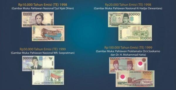 Alasan BI Tarik 4 Mata Uang Rupiah Ini