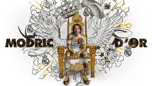 Selamat! Luca Modric Berhasil Menangkan Ballon d'Or 2018