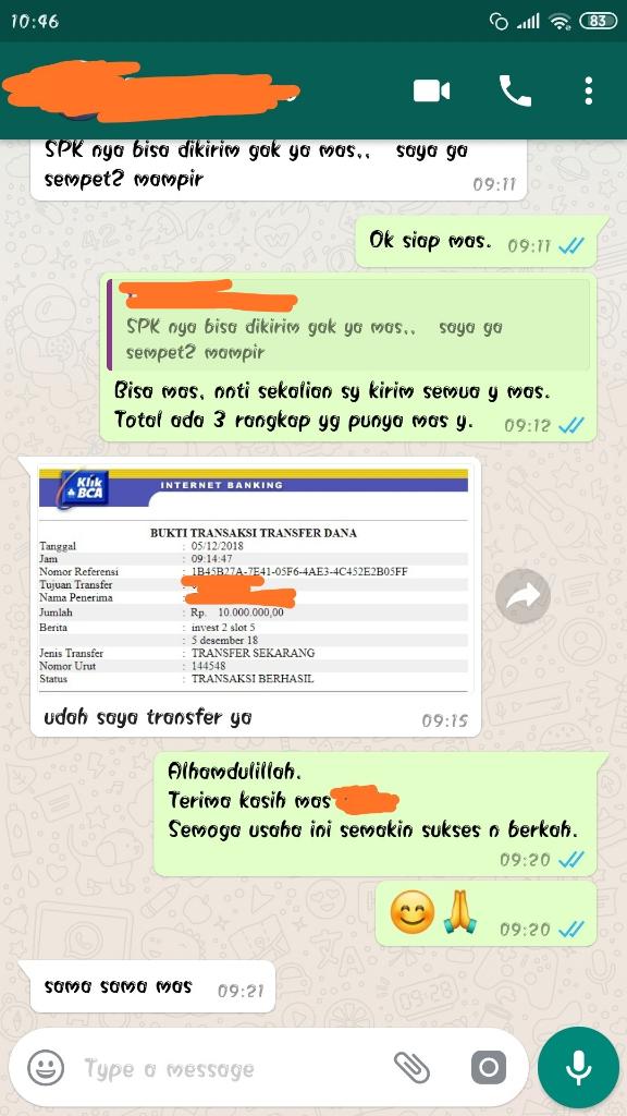 Need Investor Utk Buka Cabang, SLOT TERBATAS! Mampir Gan, Pasti Tertarik! Usaha Real.