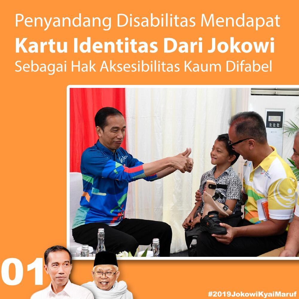 Pemerintah Luncurkan Kartu Identitas Disabilitas