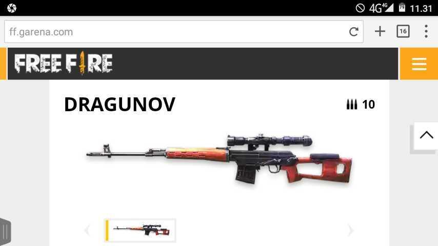 "5 Senjata Paling ""Sakit"" Di Game Free Fire"