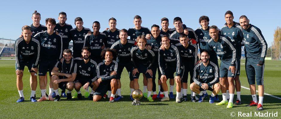 Modric telah berbagi Bola Emas dengan rekan-rekannya
