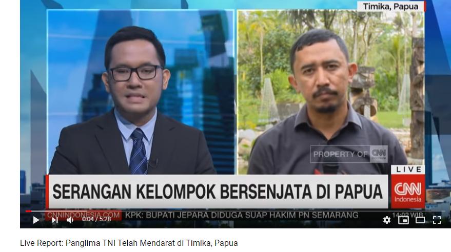 Abu Janda Sudah tiba di Papua dan Meliput Berita Terbaru