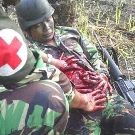 Anget News : Pembantaian Pekerja Pembangunan Jembatan Di Papua