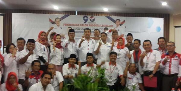DPD Perindo Bekasi Bekali Calon Legislatif DPRD Kabupaten Bekasi