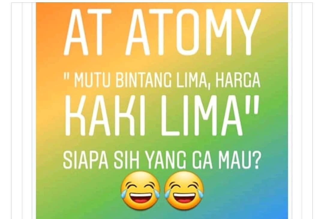 jusss  Apa Itu Atomy Indonesia - Peluang Bisnis - Kesempatan Emas Di Depan  Mata f5a2d607cc