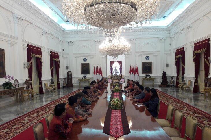 Presiden terima pengurus Perhimpunan Indonesia Tionghoa