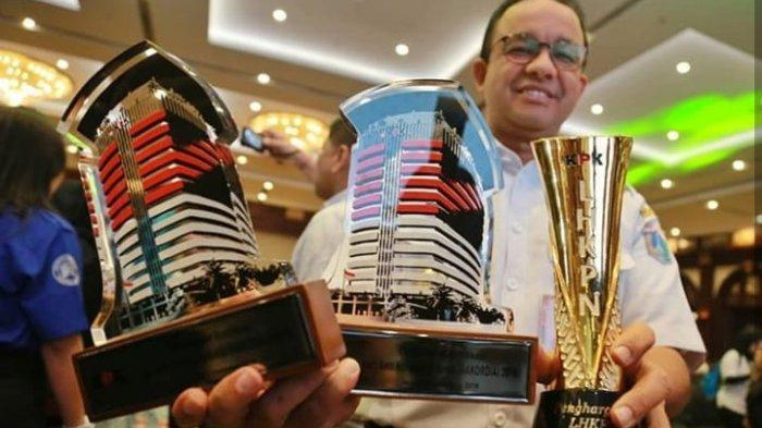 Anies Baswedan Bahagia Pemprov DKI Sabet 3 Penghargaan